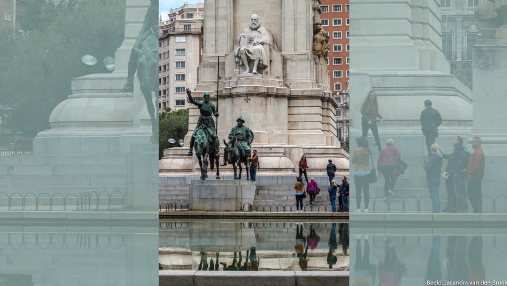 01 Madrid Cervantes Monument 16X9