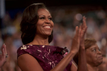 Michelle Obama Clapping